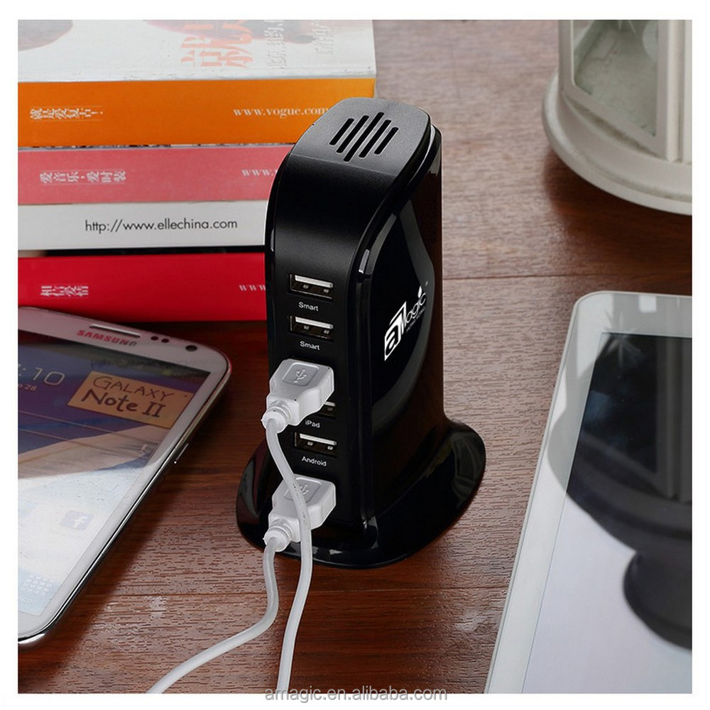 Distributors Wanted 5V 2.1A output 6-Port AC Power Universal USB Charger