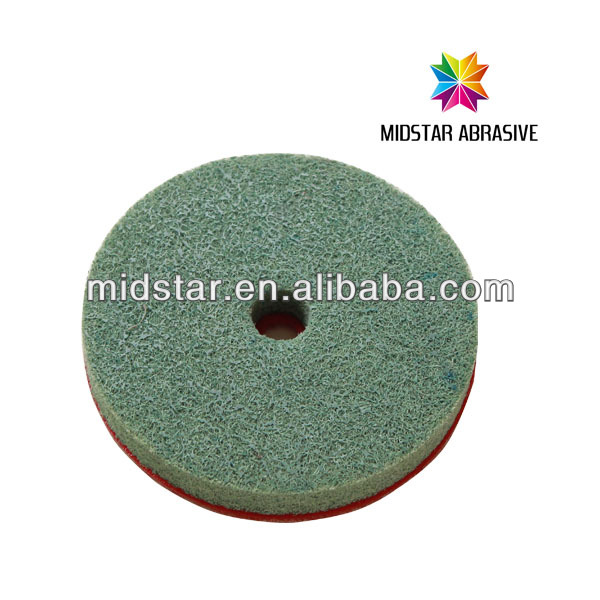 MIDSTAR velcro backing pads