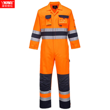 Hi vis overall hoogtepunt reflecterende overall overall functie overall <span class=keywords><strong>jumpsuit</strong></span> een stuk overall