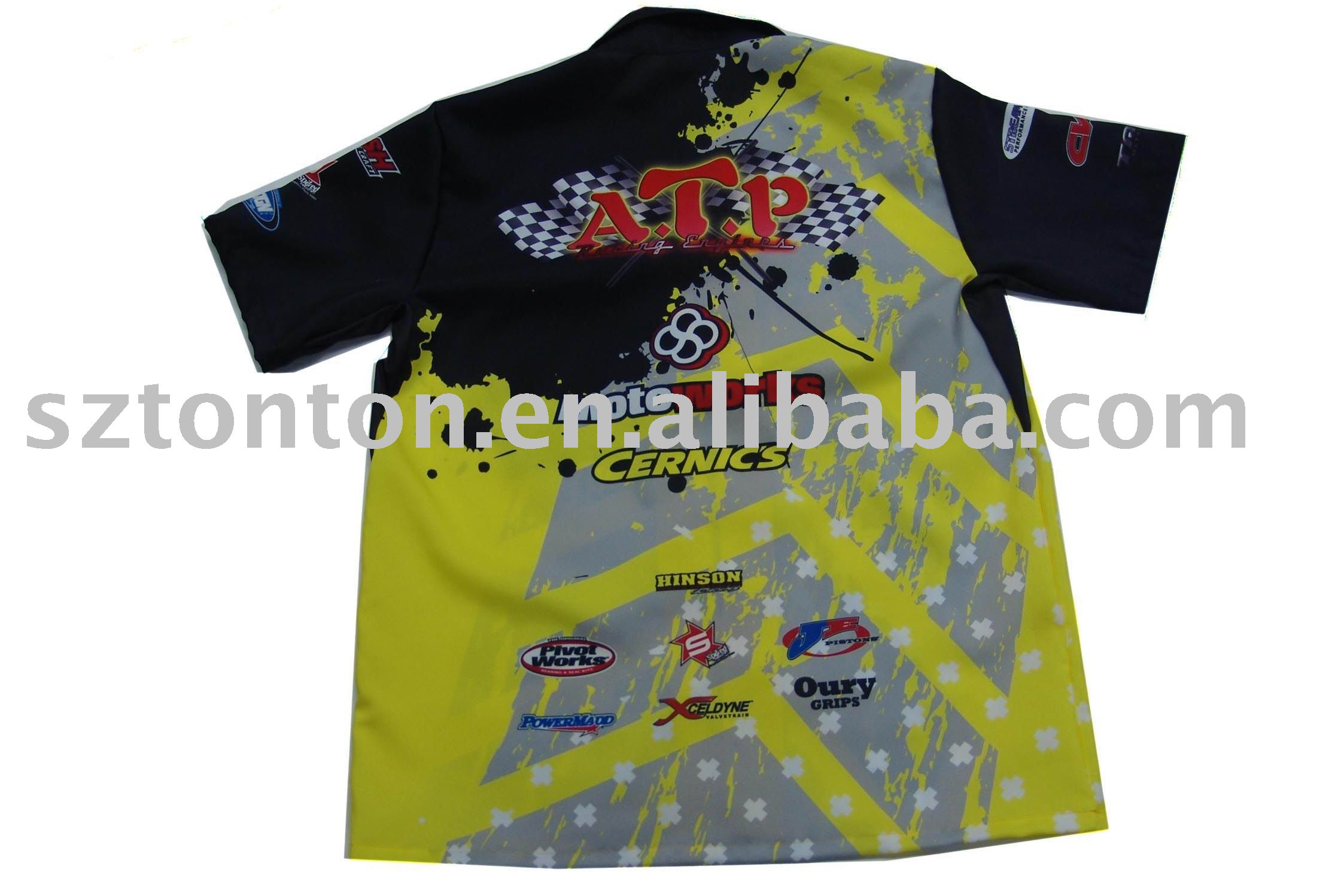 Dye sublimation motorcycle shirts