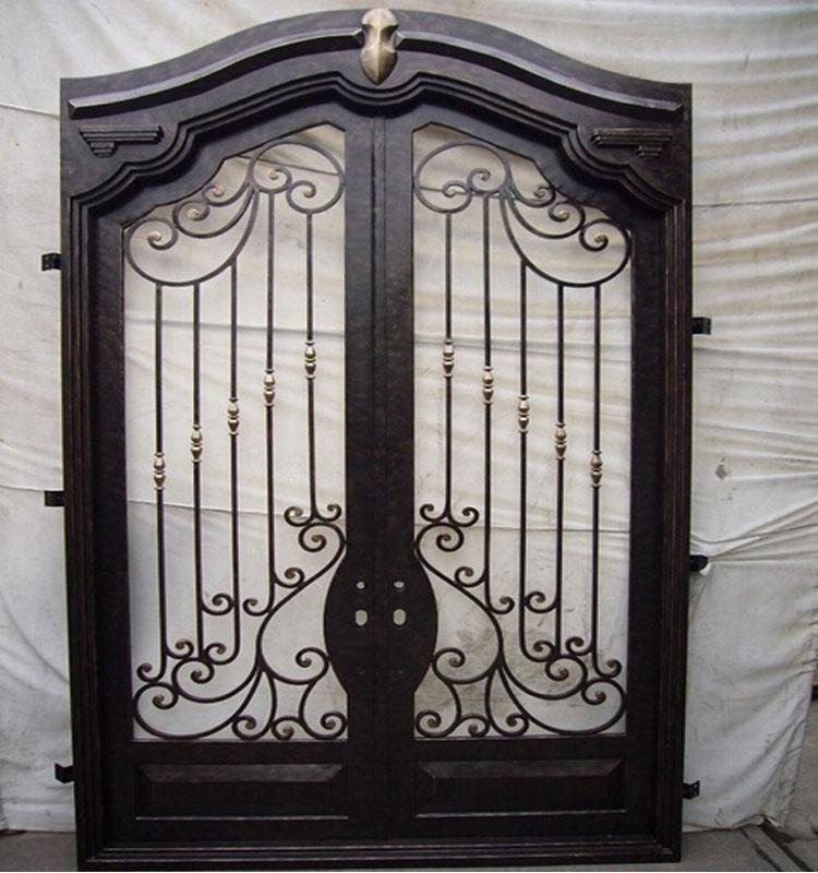 Exterior Security Doors Wrought Iron Door Gate Designs Buy Wrought Iron Doo