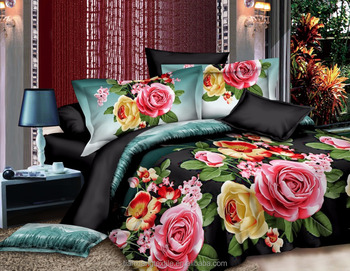 Custom Comforter 3d Fabric Printing Designs Printed Bed Sheets