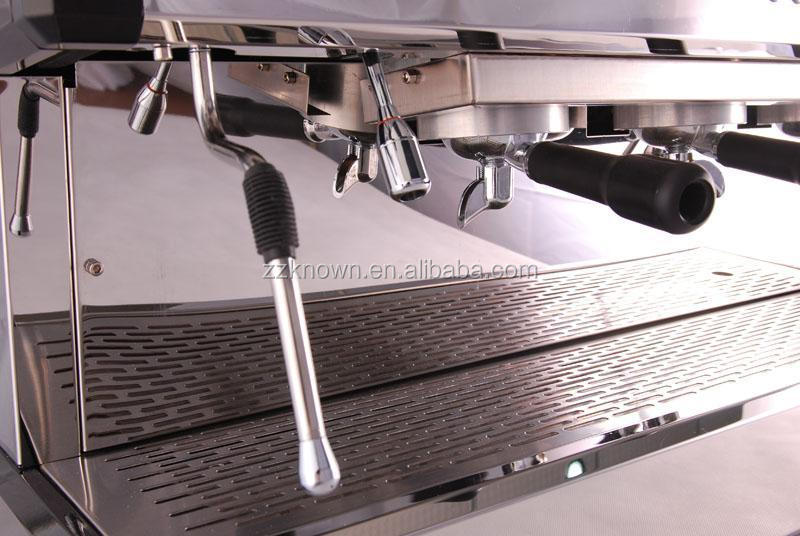 stainless steel one group italian industrial commercial coffee machine for cafe shop