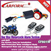 Universal 12V motorcycle alarm with remote start hot sale
