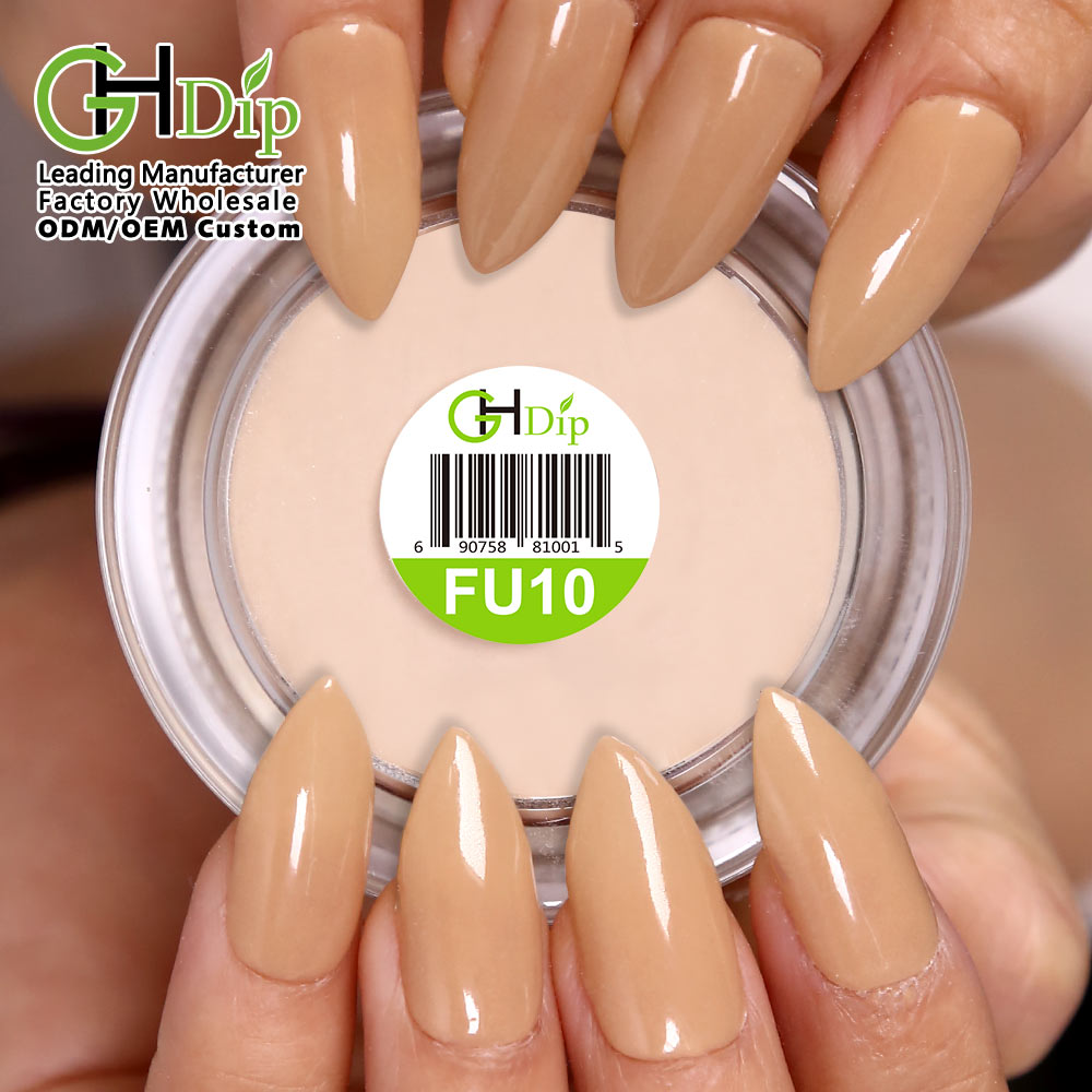 Nude Color 2in1 use acrylic nail powder, also perfect for dip powder nails