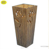 Factory Wholesale Handmade Discount Wooden Flower Vase