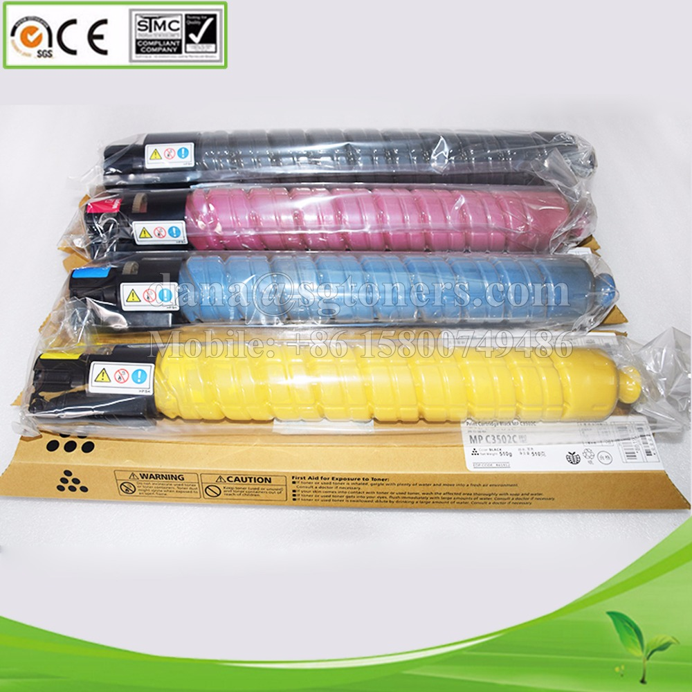 Compatible for Ricoh Aficio MP C3002 C3502 C4502 C5502 C6002 Toner Cartridge