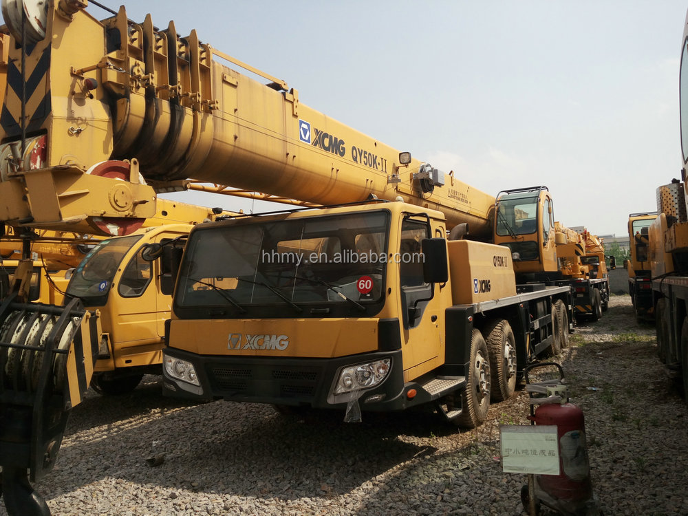 Used XCMG 50ton crane bob-lift crane for sale in shanghai