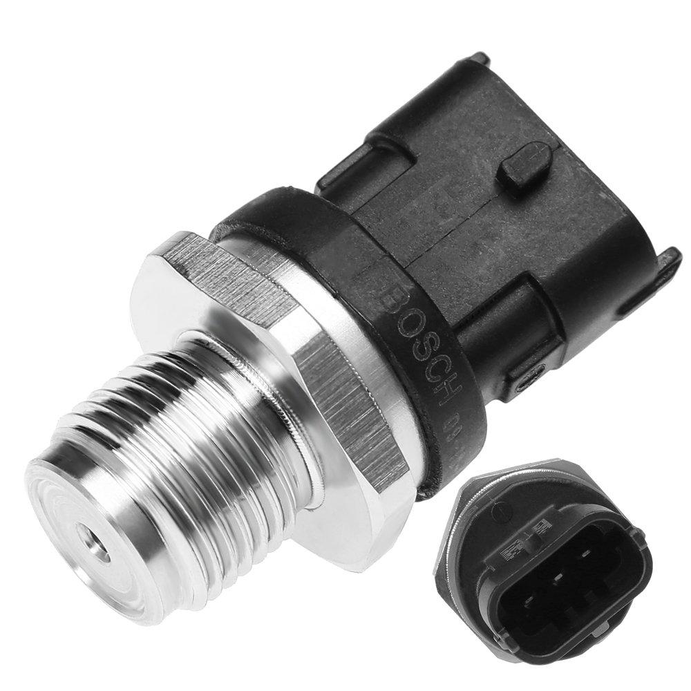 QUIOSS 6.7L Fuel Rail Pressure Sensor 5297640 For Dodge Cummins 2007.5-2012 NEW