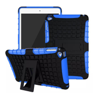 2015 New Luxury Stand Hybrid Tpu PC Case For Ipad Mini 4