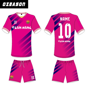 pretty nice 46804 d8757 Latest Design Wholesale High Quality Custom Made Pink Football Jerseys -  Buy Pink Football Jerseys,High Quality Pink Football Jerseys,Wholesale Pink  ...