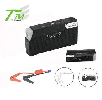 Multifunction car jump starter high capacity portable mini power bank with USB plug