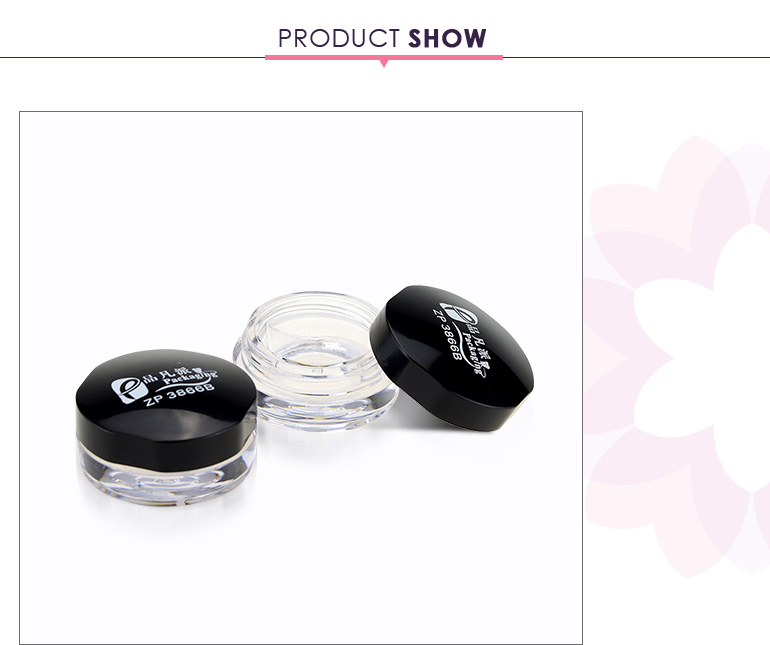 New single empty eye shadow container for eyebrow