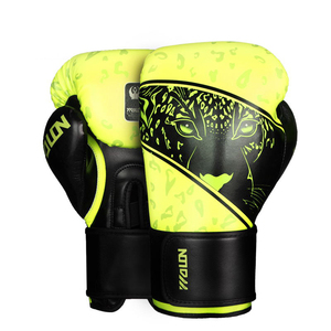 synthetic leather boxing gloves Muay thai boxing gloves for training