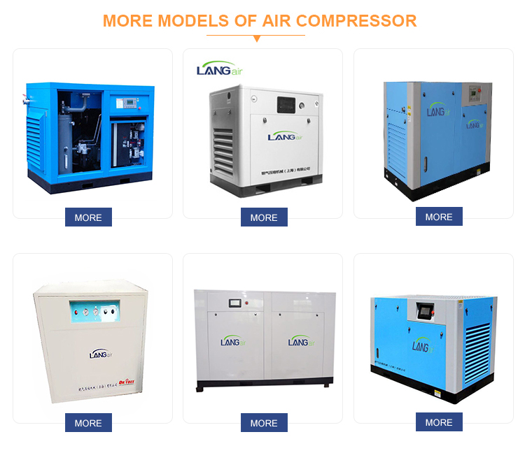 22KW 30HP integrierte alle in einem kombinierten schraube luft kompressor luft trockner