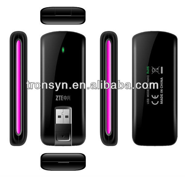 100% Original Unlock LTE-FDD 100MbpsZTE MF820D+ 4G LTE USB Dongle And 4G LET USB Modem
