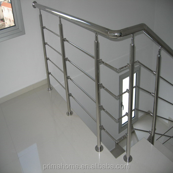 Simple Design Indoor Stainless Steel Stair Railings With Solid Bar Railing Buy Indoor Stair Railings Interior Stairs Railing Designs Stainless Steel