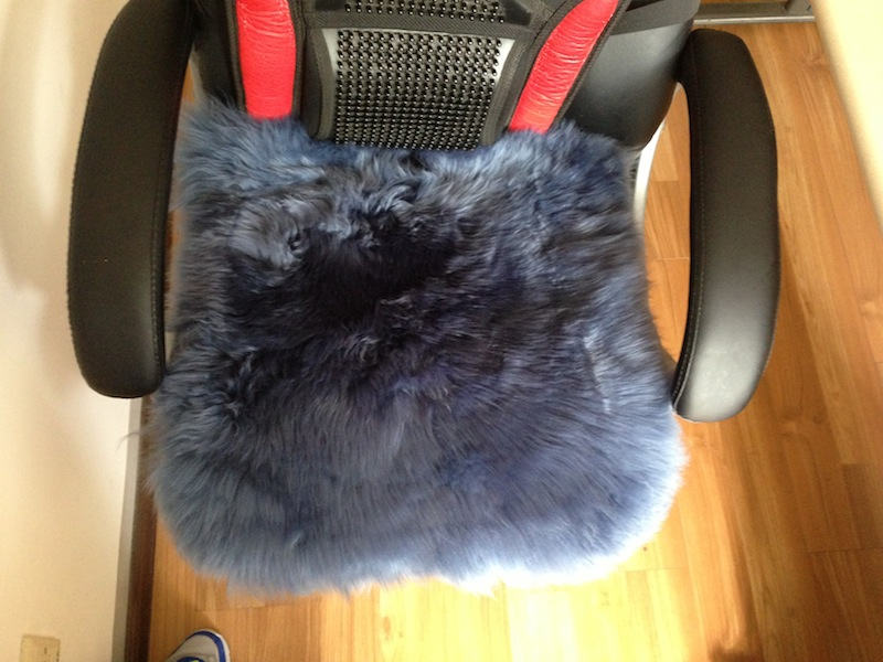 Australia sheepskin chair pad soft seat cushion