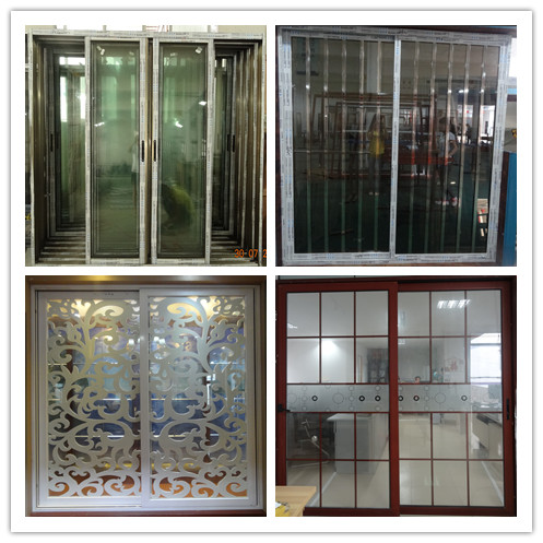 Aluminum balcony french windows and doors cheap french for Cheap interior french doors