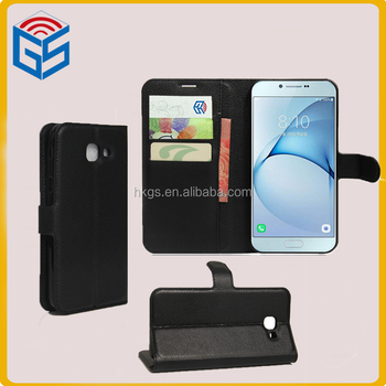 purchase cheap 6e799 1294d Folio Style Pu Leather Wallet Case For Samsung Galaxy A8 (2016) A810 Flip  Cover - Buy For Samsung Galaxy A8 (2016) A810 Flip Cover,For Samsung ...