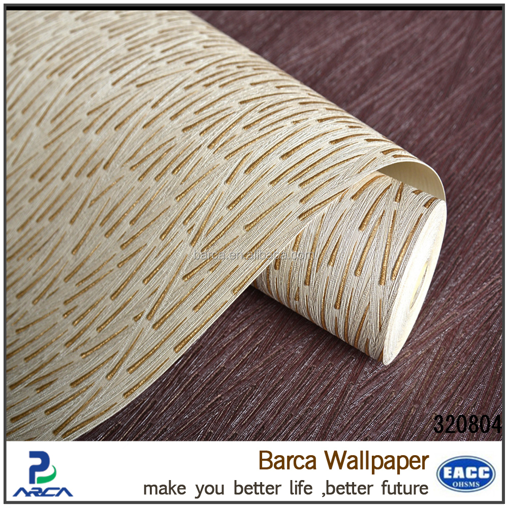 China Famous Wallpaper Brand Manufacturer Produce interior 3d Wallpaper