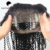 100% Human Hair Glueless 360 Lace Frontal Closure With Baby Hair
