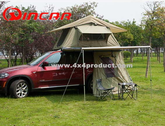 Tough Car Side Shade 4x4 Awning Tent C&ing Roof Top 4WD Pull Out & Tough Car Side Shade 4x4 Awning Tent Camping Roof Top 4WD Pull Out ...