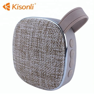 3 inch subwoofer mini wireless active fabric subwoofer phone speaker