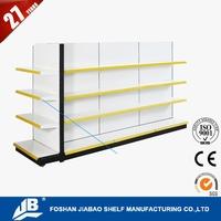 shopping shelf/ wire mesh shelf rack/ metal store shelf MOQ 10 Units