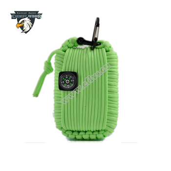 2016 trending hot products wholesale alibaba paracord grenade disaster zombie survival kit for outdoor and mountain climbing