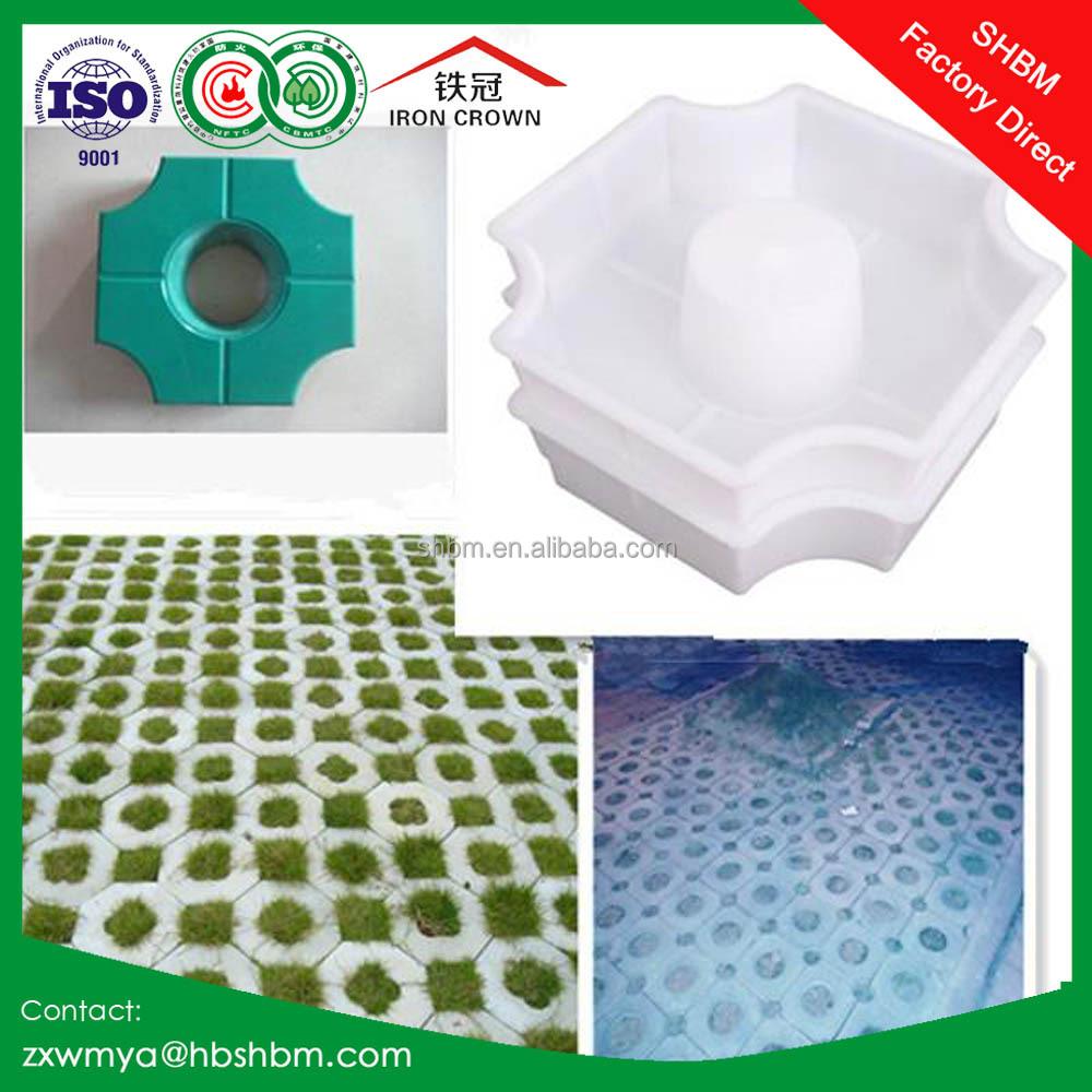 Pl stico moldes de bloques de cemento de pavimentaci n - Plastico para moldes ...