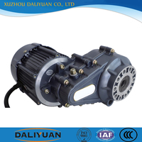 500 hp electric dc motor 48v 7kw for tricycle