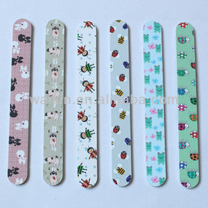 Cute Animal Print Nail Sanding File
