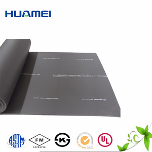 Class B1 close cell rubber foam sheet/pipe rubber elastomeric thermal insulation