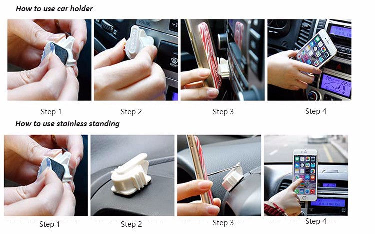 China Wholesale finger grip sticky smart phone car holder with one hand grip
