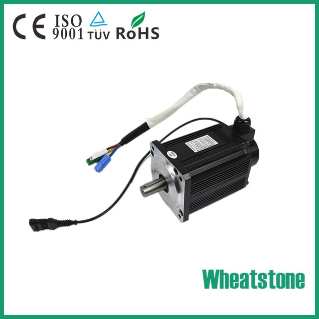 High Torque 96V 1000W 1000RPM brushless dc motor With High effiency