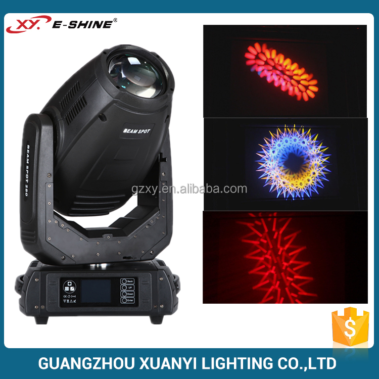 280W 10R Robe Pointe Pro Stage Equipment Beam Spot Wash 3in1 R10 280 Watt Moving Head Light