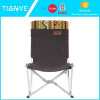 OEM lightweight aluminum beach portable fishing folding hiking reclining camping chair