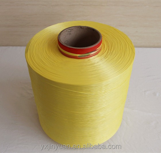 china manufacturer dope dyed FDY Industrial polyester thread Yarn