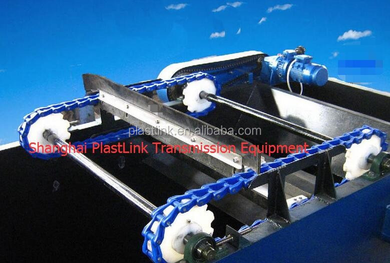 After sales service provided slat conveyor chain Plast Link NH 78