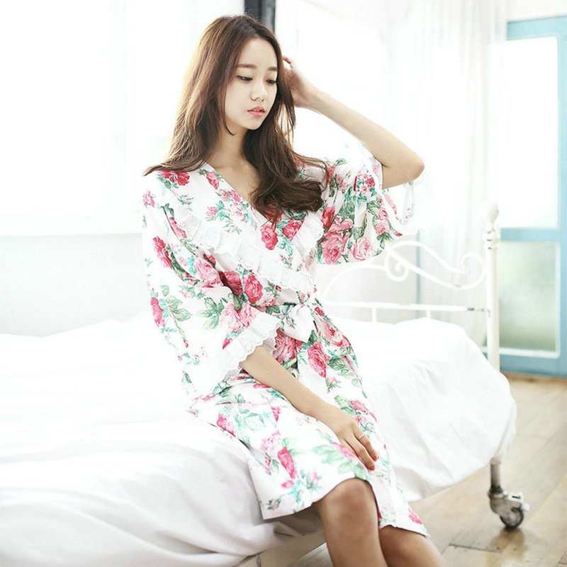 b803139955a41 Buy Dressing Gowns For Women Long Silk Robe Bathrobe Dressing Long Bathrobes  For Women Bridesmaid Robes Kimono Robes Roupao Seda179 in Cheap Price on ...