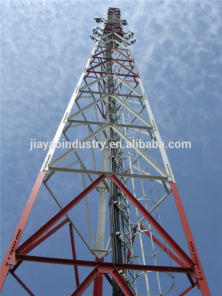 100 ft 3 legged self supporting radio tv antenna tower for sale