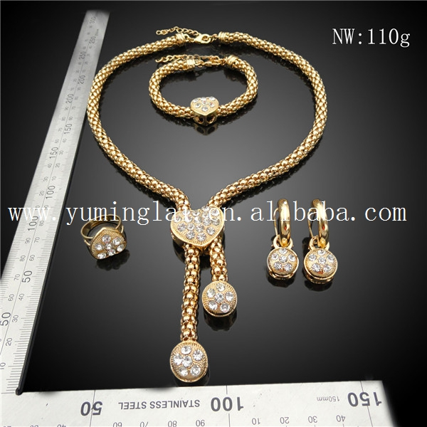 Dubai gold jewellery designs