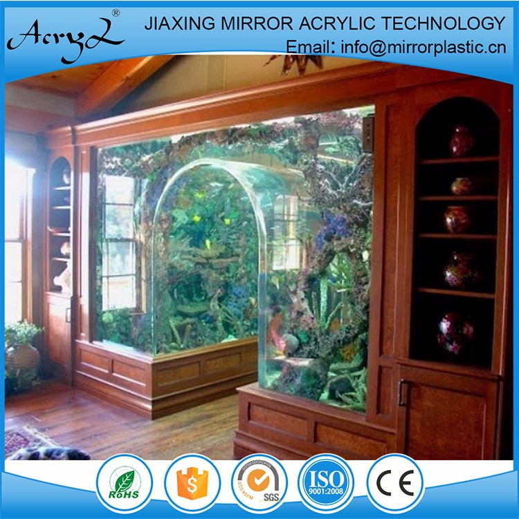 Good Service Arc de Triomphe Aquarium Acrylic Sheets For Fish Tank