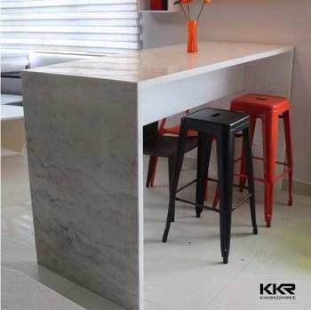 Kualitas Tinggi Putih Bar Counter Untuk Desain Dapur Kecil