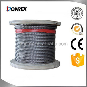 Ungalvanized steel wire rope with factory price