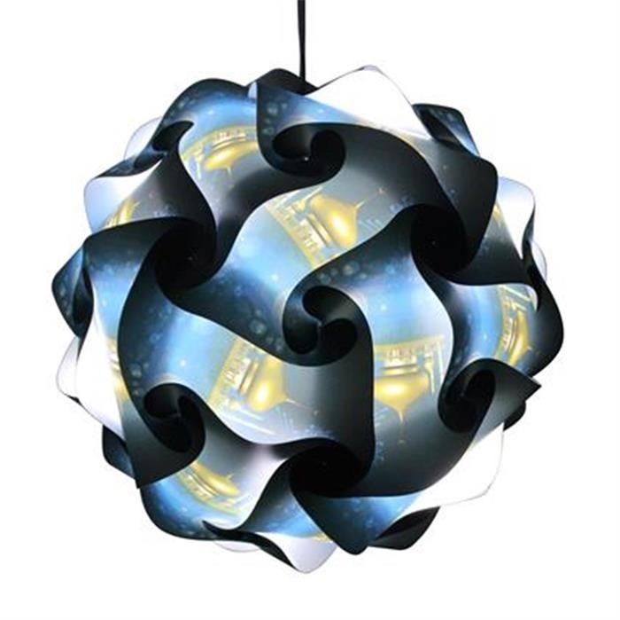 modern ceiling pendant contemporary iq lights jigsaw puzzle light