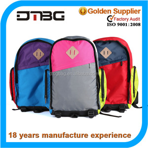 Most hot sell colorful funny teen school bag backpack