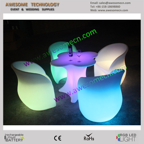 led coloured occasional chair with arms for living room
