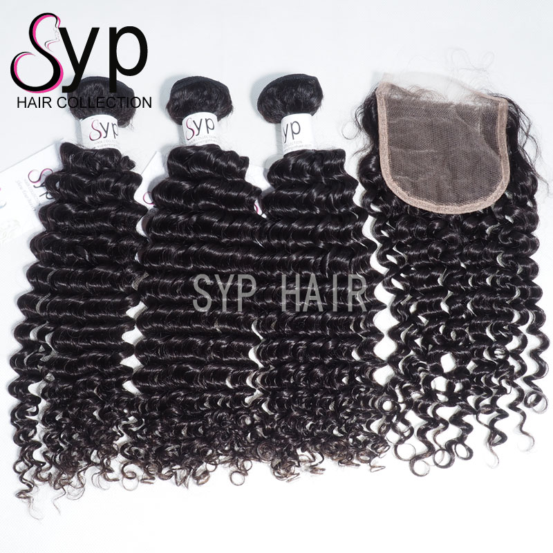 Malaysian Deep Curly Demi Wave Weave Pictures Wavy Hair Pelo India